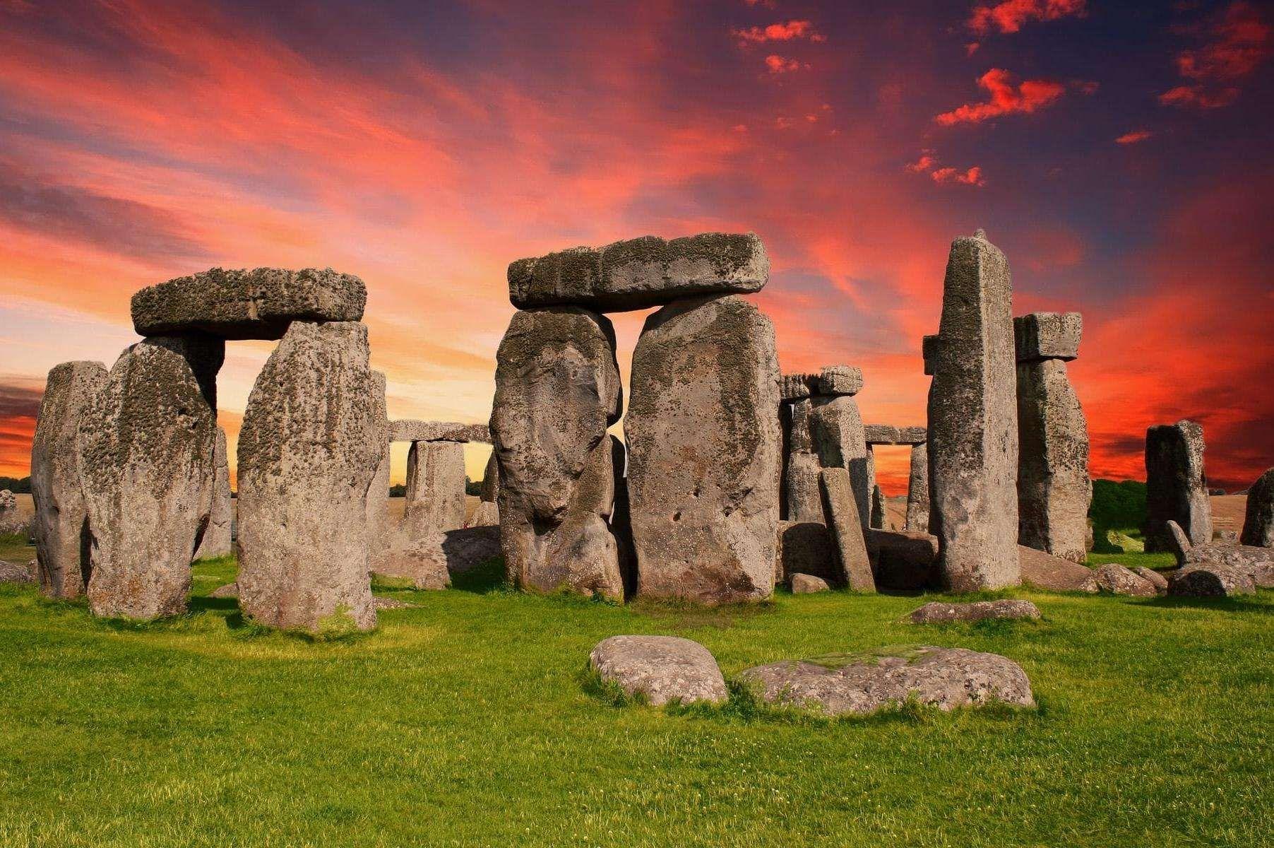 巨石阵是如何建造的三种可能;建造