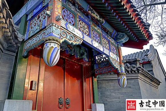 垂花门:中国古建筑门美不怕宅院深