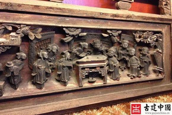 徽派建筑丨刀尖上流动的艺术——徽州三雕之木雕