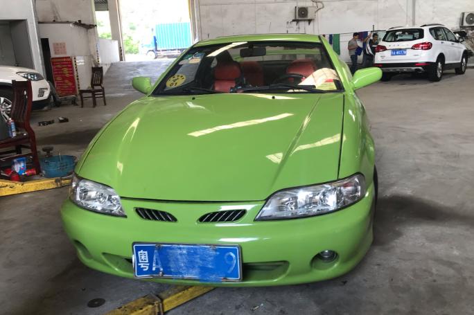 又见吉利美人豹,中国第一款跑车,可惜连捷达都追不上