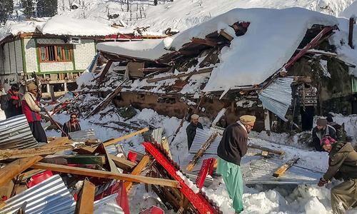巴控克什米尔地区雪崩死亡人数升至76人