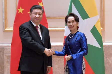 习主席新年首访 缅甸最高规格迎接!