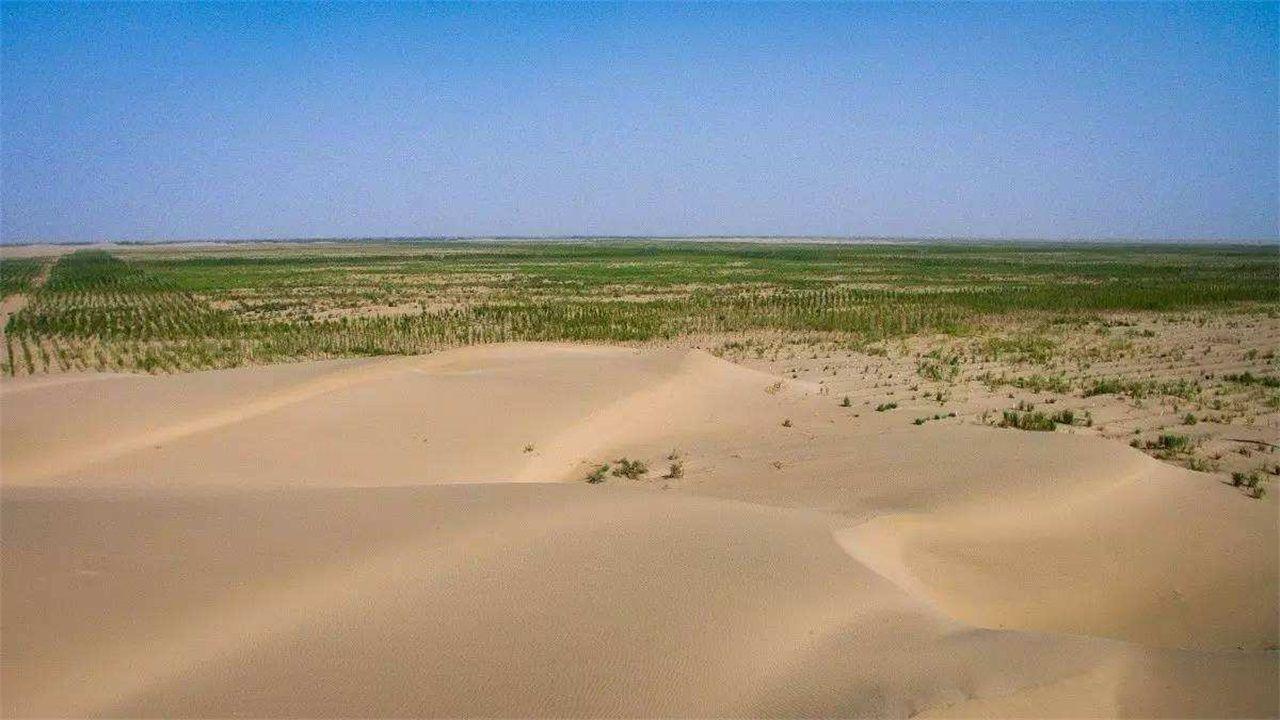 为何不在沙漠中打井抽水,然后把沙漠变成绿洲?