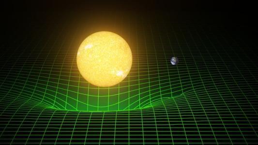 引力为什么会导致时空弯曲?