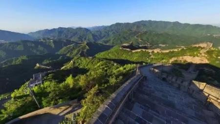 八达岭长城景区3月24日部分恢复开放