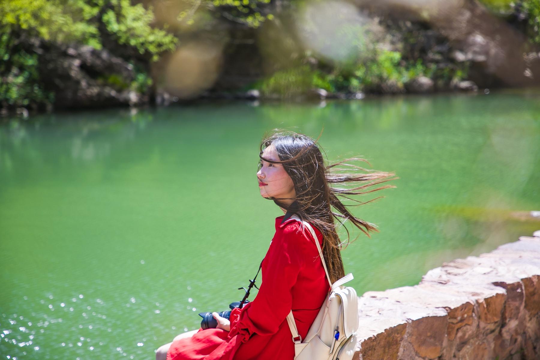河南有一处山水画廊仙境,丹霞地貌堪称中原一绝,知道的人不多