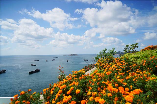 浙江嵊泗最壮观的景点,悬崖绝壁、惊涛拍岸,小朋友却可轻松走完